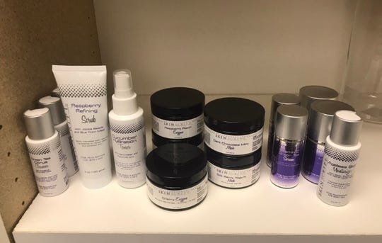 Available skin products at Lotus Skin Care in Powell.