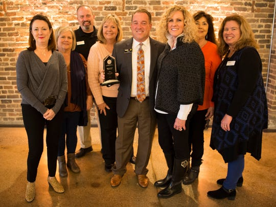 Scenes from the Commercial and Residential Real Estate Awards held at The Press Room in Knoxville on Tuesday, Feb. 12.