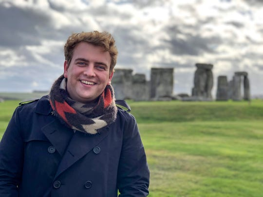 Alex Crockett, a University of Tennessee, Knoxville graduate, is currently studying in the United Kingdom on a Fulbright award. UT Knoxville produced 19 Fulbright award winners in 2018-2019.