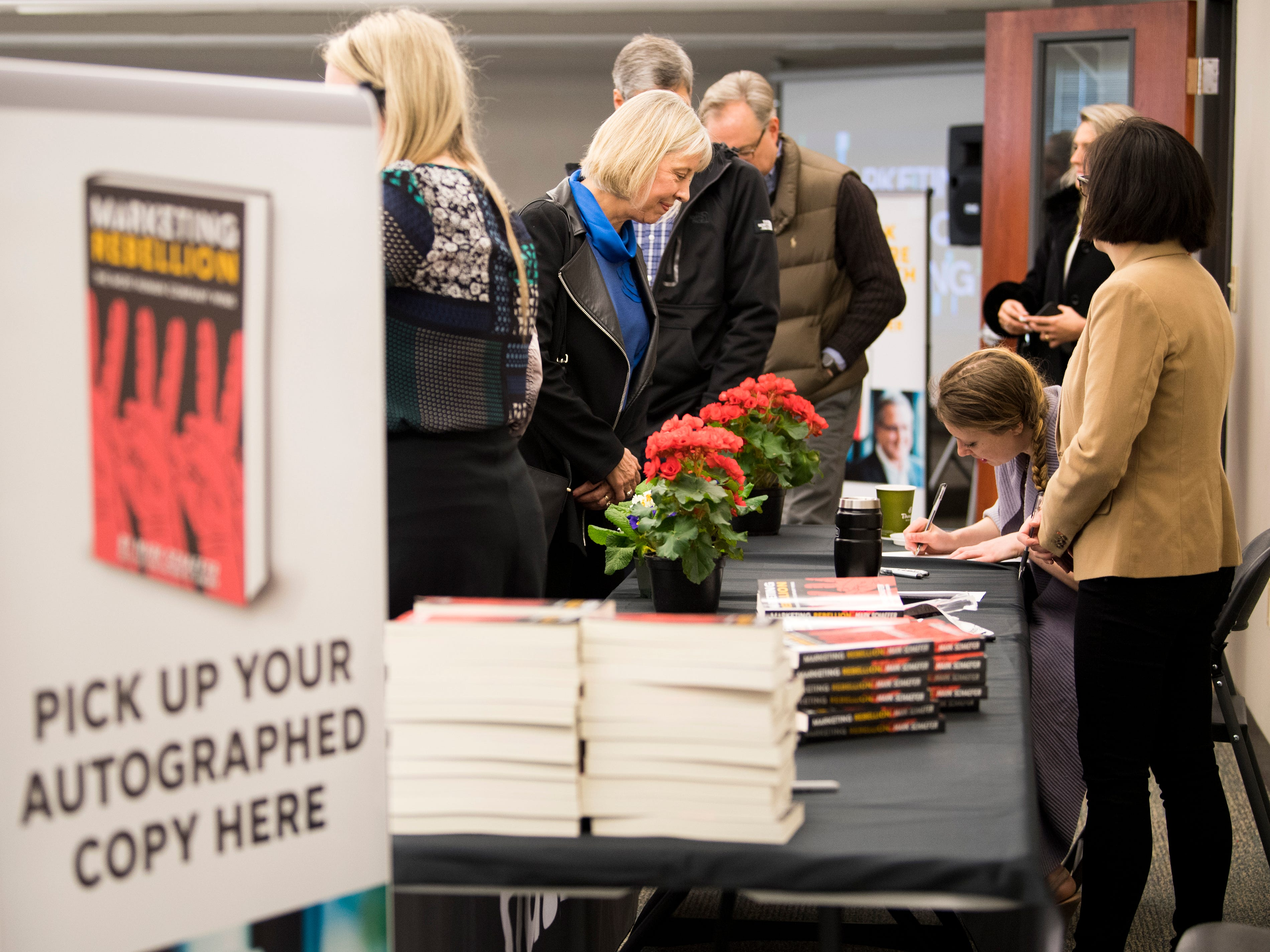 Scenes from knox.biz's Mark Schaefer book release event held at the Knoxville News Sentinel on Wednesday, February 13, 2019.