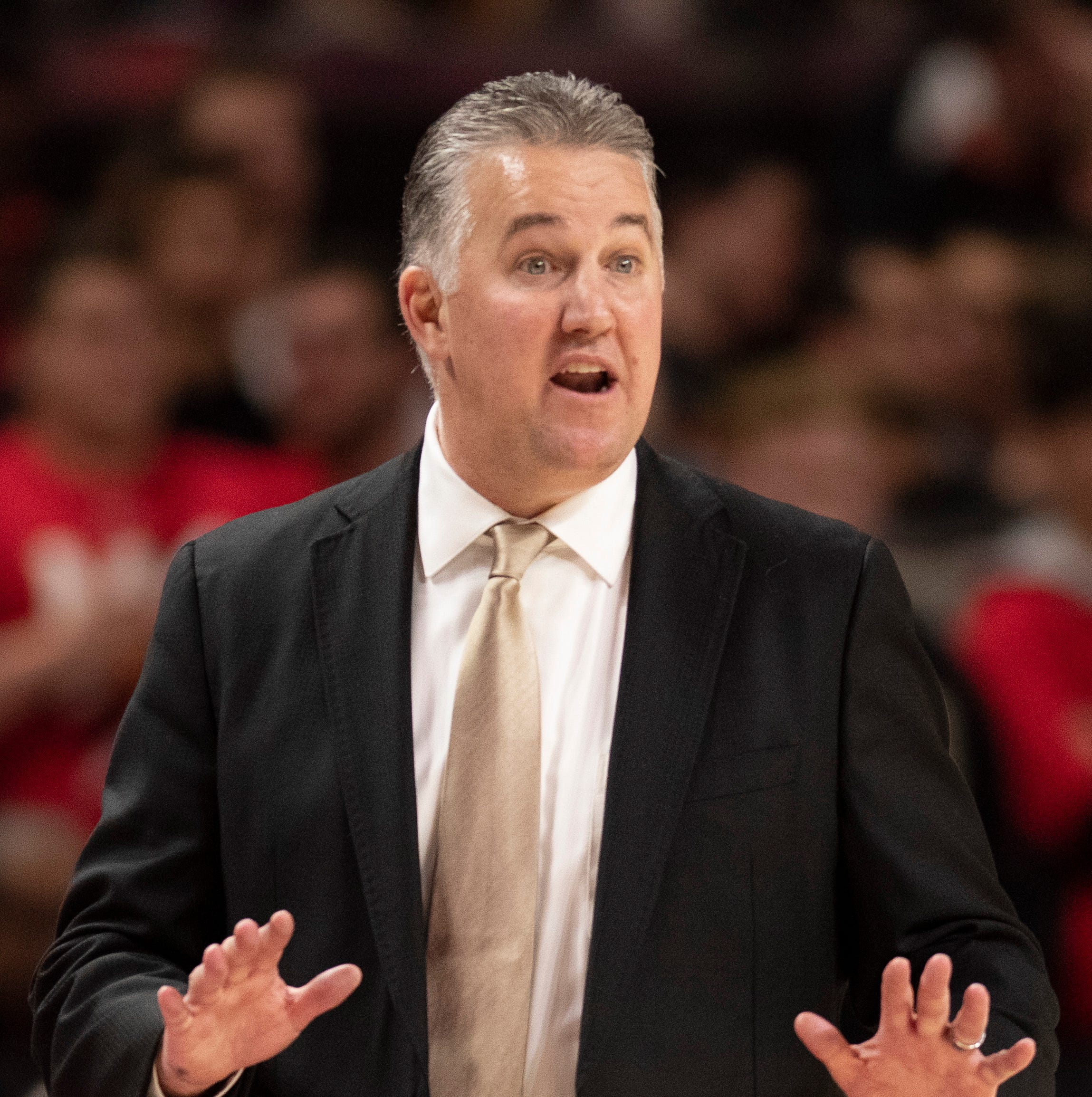 Matt Painter on vulgar chants: 'Purdue needs to worry about itself'