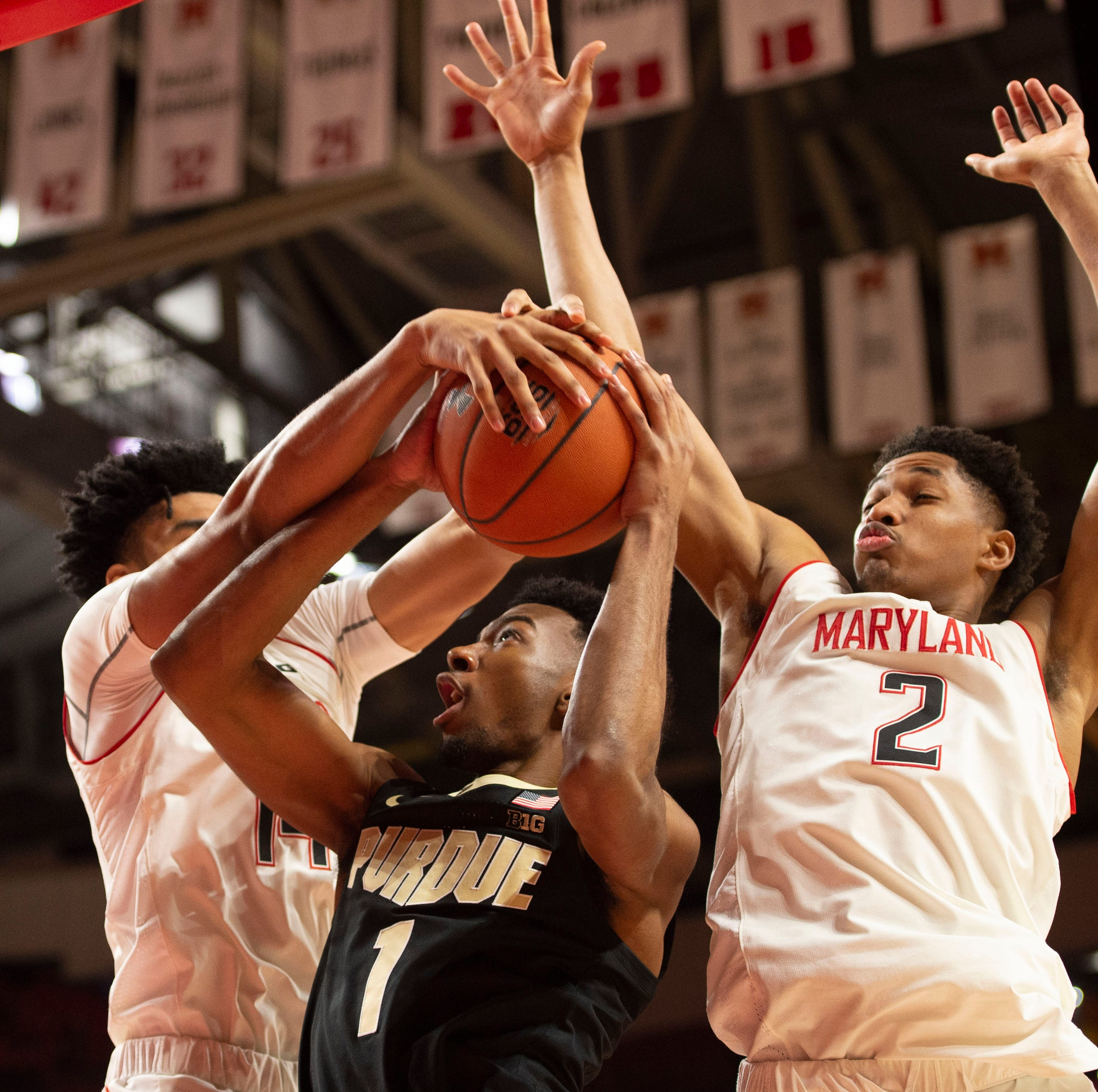 No. 24 Maryland's defensive dominance snaps No. 12 Purdue basketball's winning streak