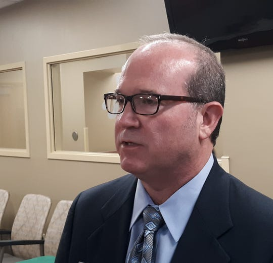 Patrick Gandy, Lafayette General Medical Center CEO and Executive Vice President.