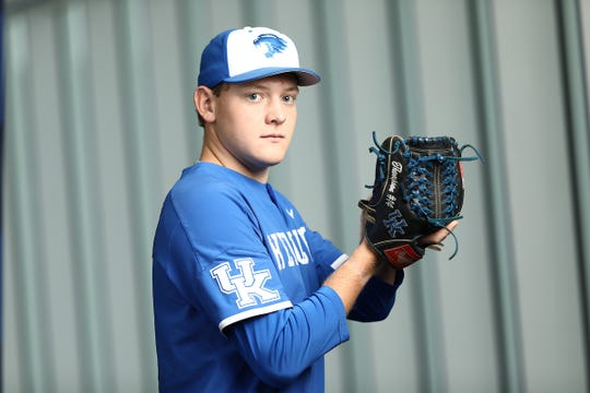Kentucky junior left-handed pitcher Zack Thompson is a potential first-round pick in the 2019 MLB draft.