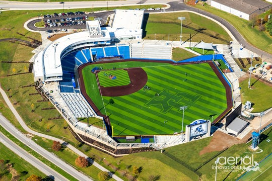 Kentucky will move into the $49 million Kentucky Proud Park in 2019.