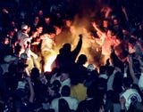 On March 27, 1999 tear gas filled the streets of East Lansing. Michigan State fans started a riot after the Spartans' loss to Duke in the Final four.