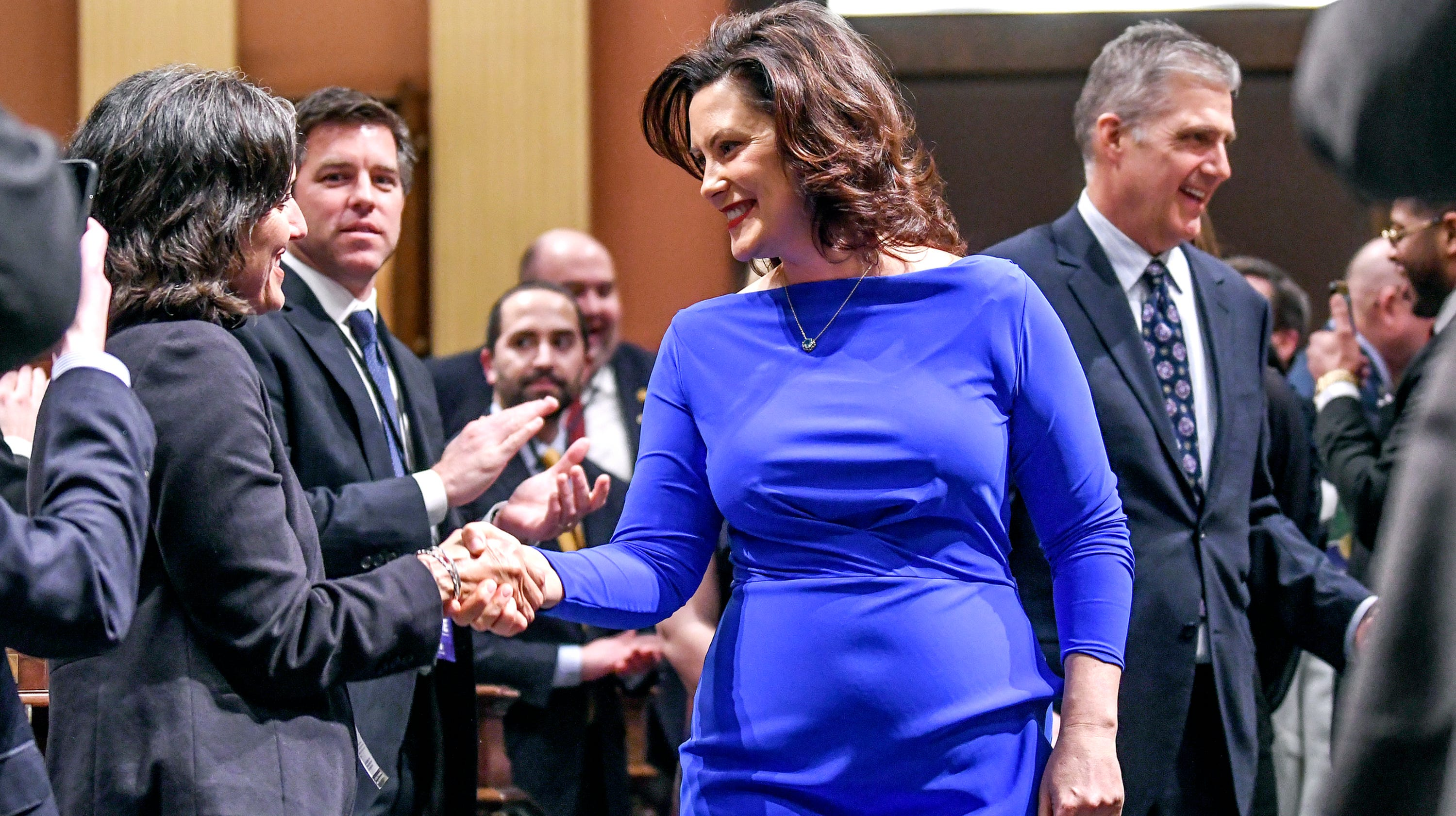 Freep: Gretchen Whitmer fires back about State of the State dress criticism
