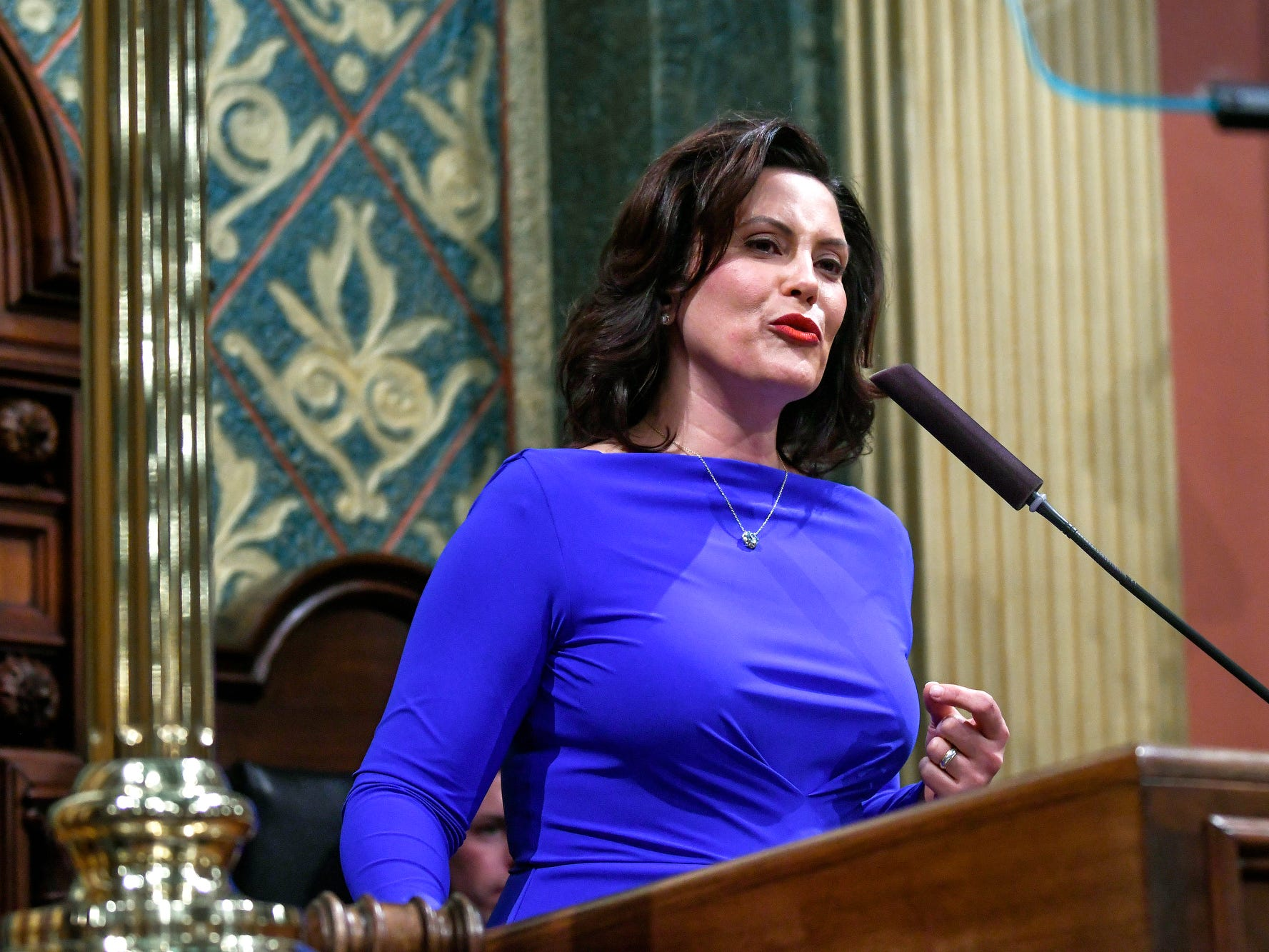 Gov. Whitmer sees a brighter Michigan, and she'd like you to, also