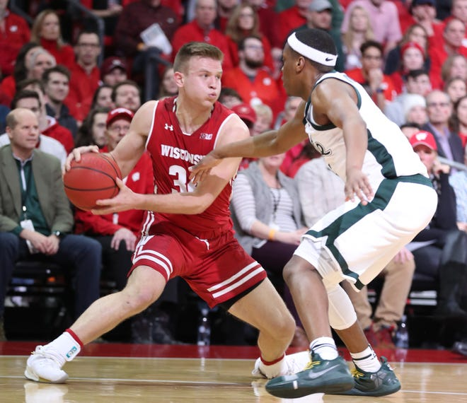 Wisconsin guard Brad Davison is somehow only a junior.