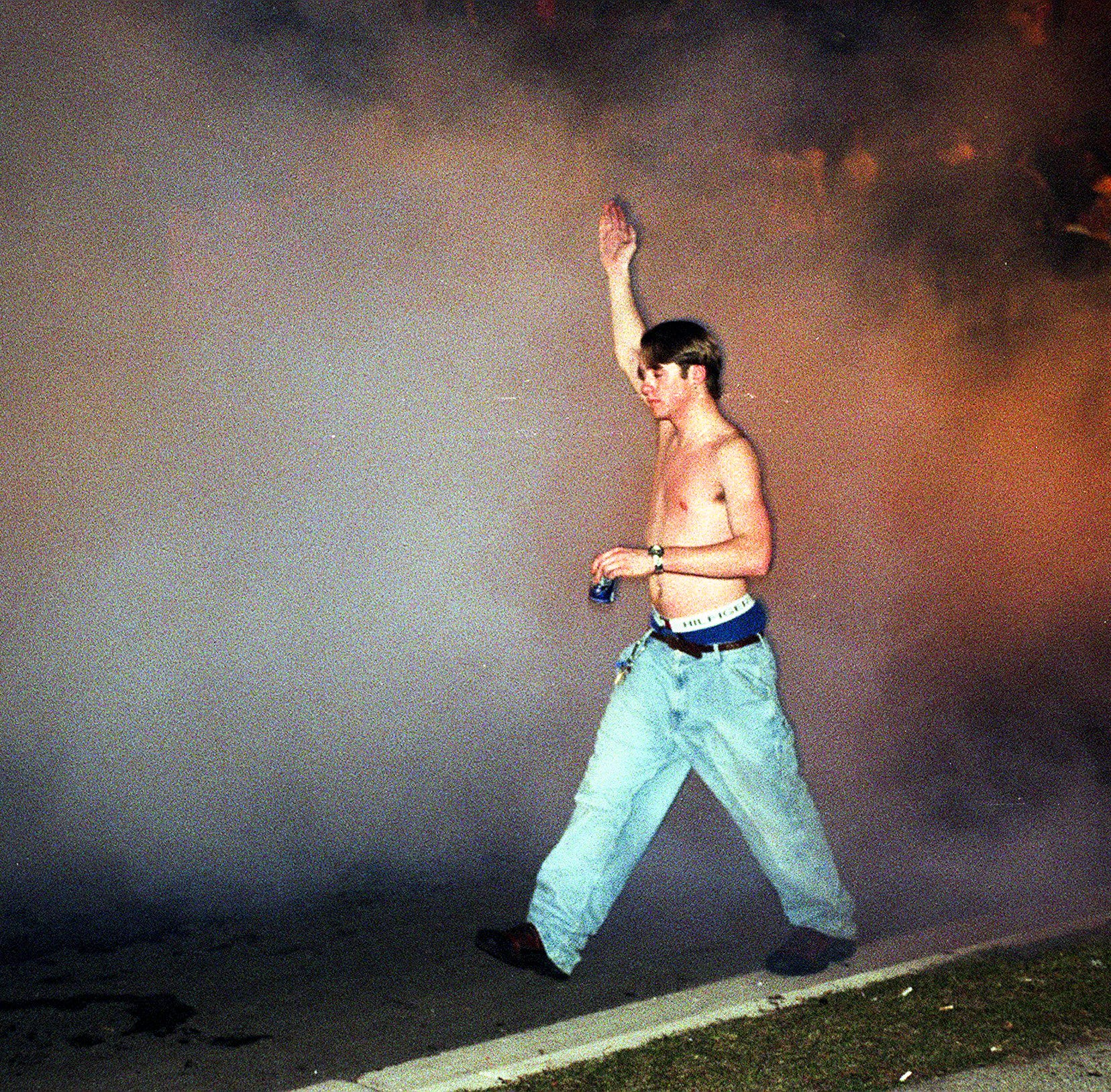 Tear gas, shattered windows and burning cars: How the 1999 riot went down in East Lansing