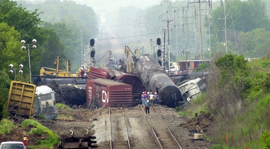 A 2002 train derailment that prompted the evacuation of nearly 2,200 residents in Potterville is the backdrop for a new independent film set to be filmed locally this summer.