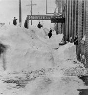 The largest recorded 24-hour snowstorm in Wisconsin occurred in Dec. 1904 in Neillsville.