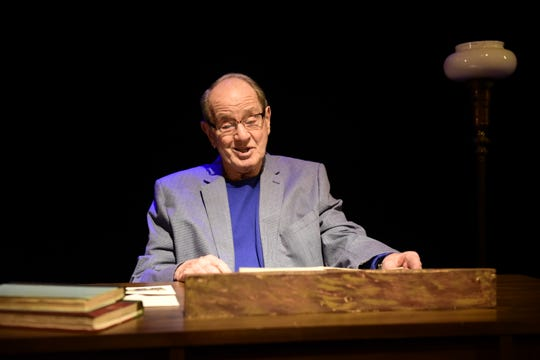 """Ray Gerrell said the role of his character, """"Andrew,"""" is very believable in Love Letters, which will be performed Thursday and Friday at OSU-Mansfield."""