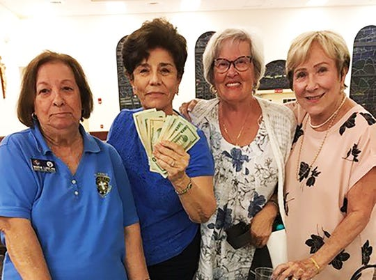 On Thursday, Feb. 7, the Knights of Columbus San Marco Council #6344 hosted a Bingo fundraiser in the San Marco Parish Center. The big jackpot winner was Maria Granda.