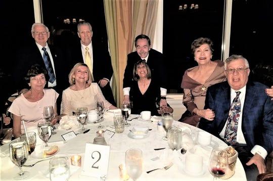 Pat and Carl Hanson, Alice and Matt Rizzo, Paul and Gail Byrnes