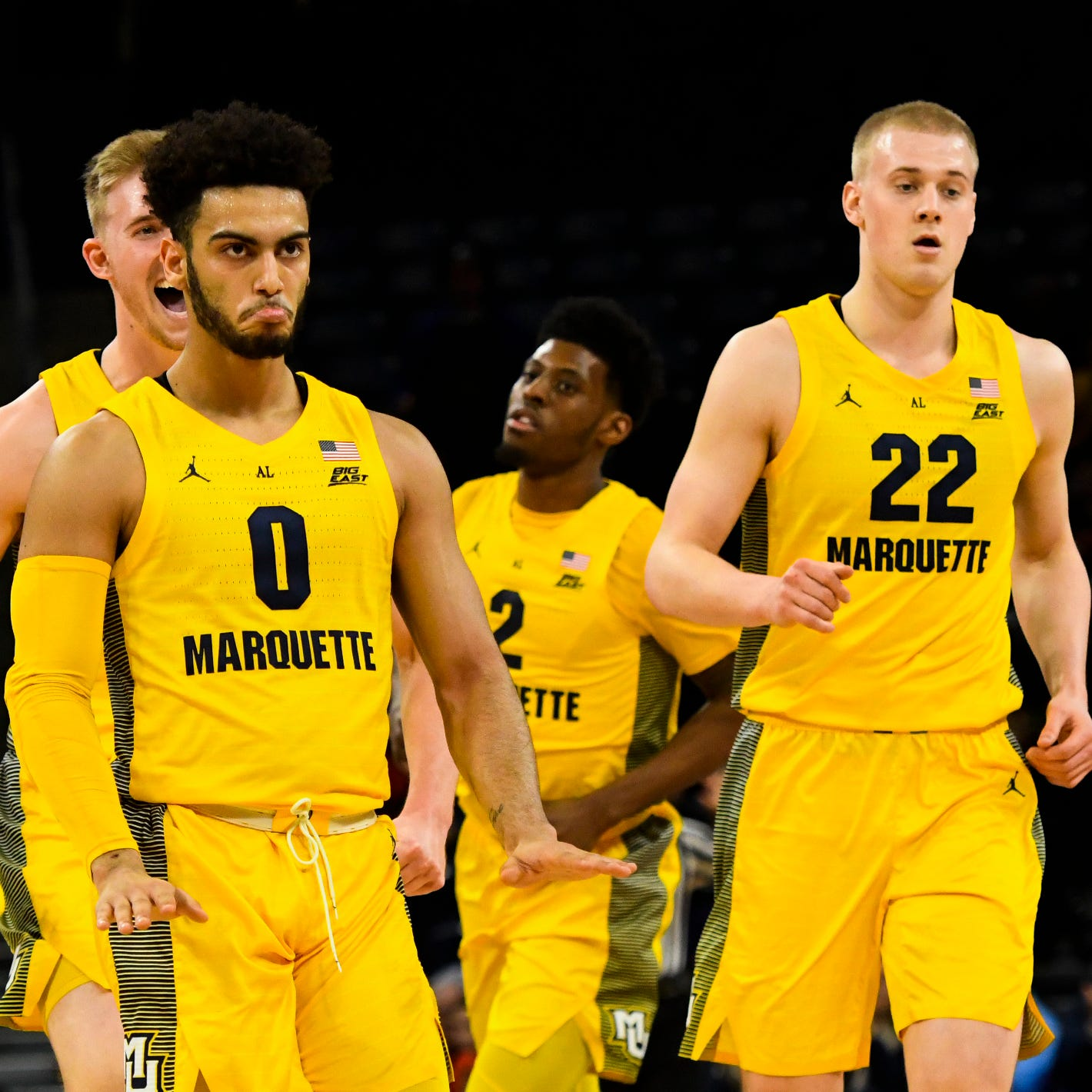 Marquette has six games left – including a showdown with Villanova – in a battle for the Big East title
