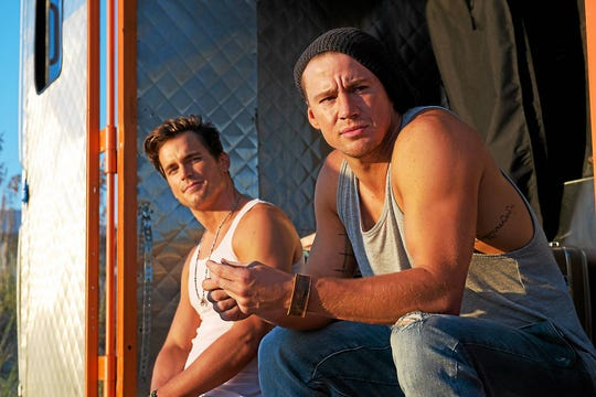 "Matt Bomer and Channing Tatum return to the dance floor (and the stripper pole) in ""Magic Mike XXL."""