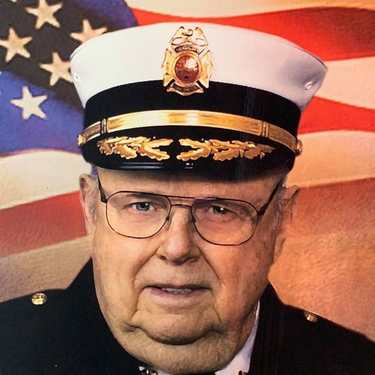William Rausch served with the Thiensville Fire Department for 58 years, including 35 as chief. He died Feb. 12 at the age of 91.