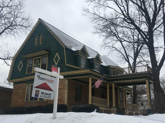 This Dutch Colonial house, built in 1894, is for sale in Wauwatosa.