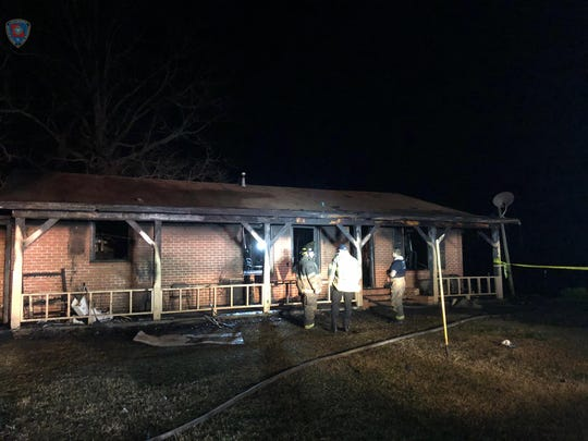On Tuesday night, the Ouachita Parish Fire Department responded to a house fire in the 600 block of Howard Brown Road in West Monroe.