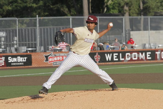 Trey Jeans was dominant in a second-round game at the Sun Belt Conference Baseball Tournament.
