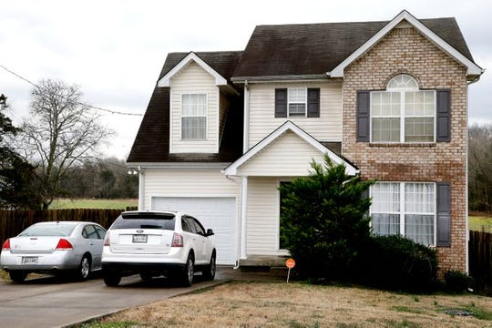 This home on the 200 block of Breeze Drive in Walter Hill, Tenn. is where Rutherford County deputies shot and killed Allon Jones on Thursday, Feb. 7, 2019.