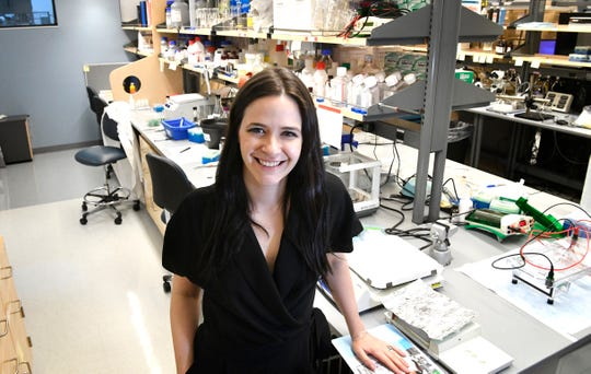 Erin Calipari is working on groundbreaking research that addresses the immune system's effect on drug cravings as a possible approach to the opioid epidemic.