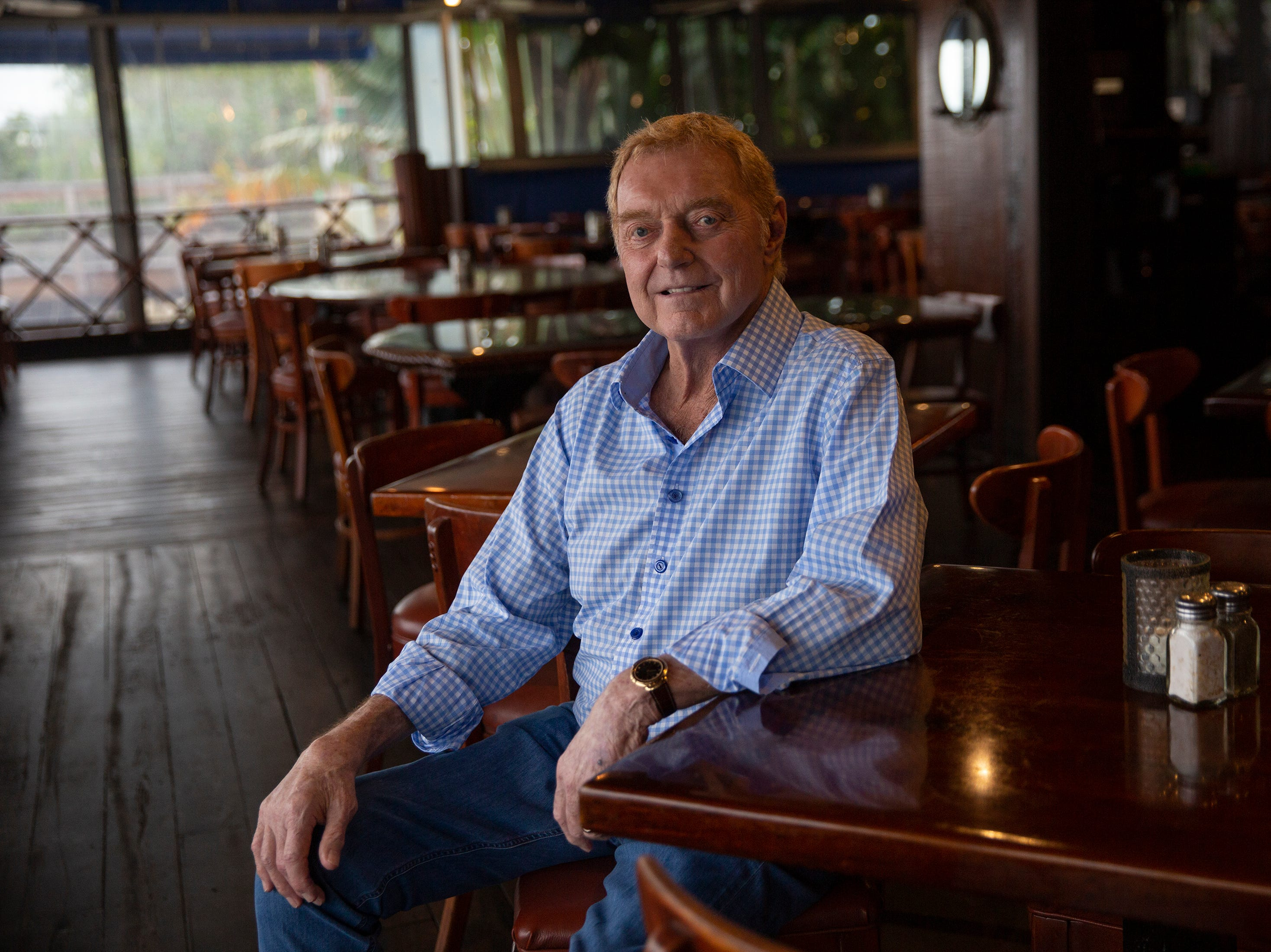 Vin Pasquale, former owner of The Dock restaurant sits for a portrait, Wednesday, Feb. 13, 2019, at The Dock restaurant in Naples.