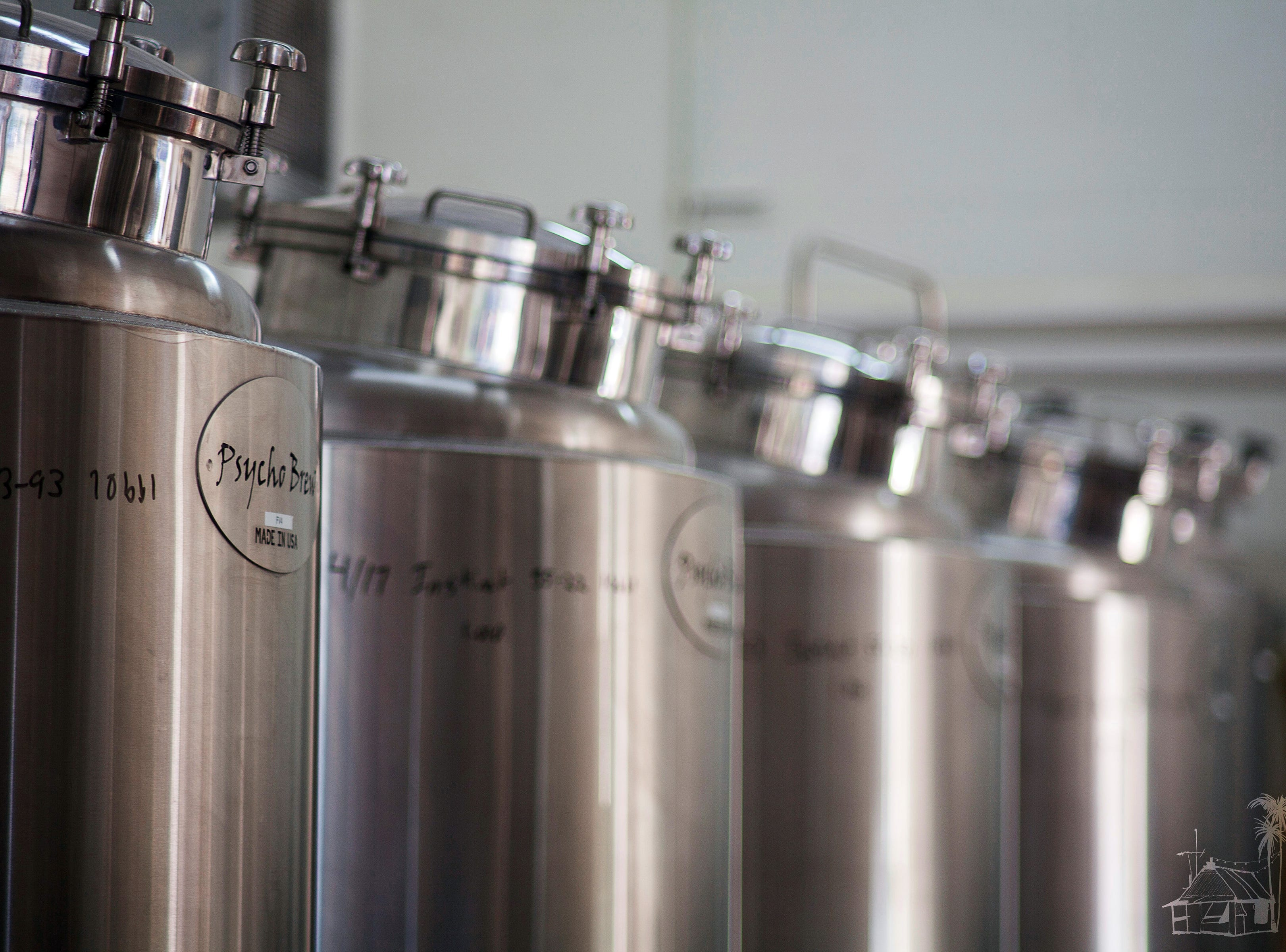 Momentum Brewhouse in Bonita Springs has a five-barrel system for brewing craft beers.