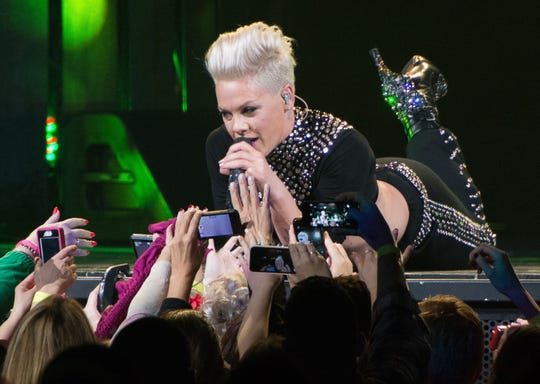 P!nk brings her tpur to Sunrise, Florida in early March 2019.