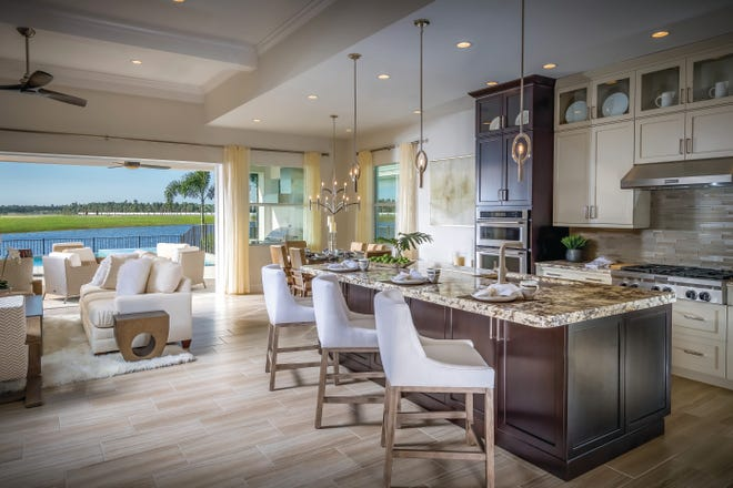 A wide range of home designs and quick delivery homes are available at Toll Brothers communities in Southwest Florida.
