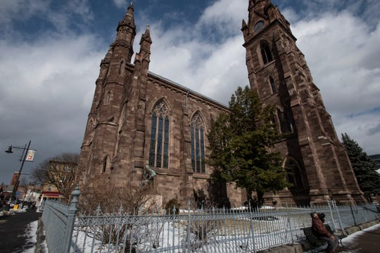 Cathedral of Saint John the Baptist in Paterson on Wednesday, February 13, 2019.