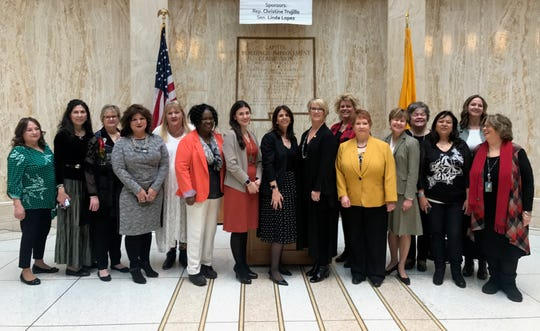 Female legislators in New Mexico are forming a women's caucus to leverage their growing numbers and influence. The caucus includes members of both parties.