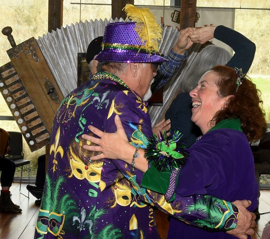 Passing a good time at the jam session held Saturday at the St. Landry Parish Visitors Center.