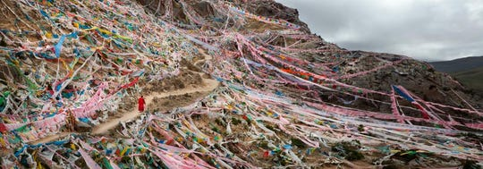 """Princess Wencheng Temple Kora in Tibet from """"Tibet: Culture on the Edge."""""""