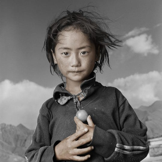 """Photograph of Yama in Tibet from """"Tibetan Portrait: The Power of Compassion."""""""