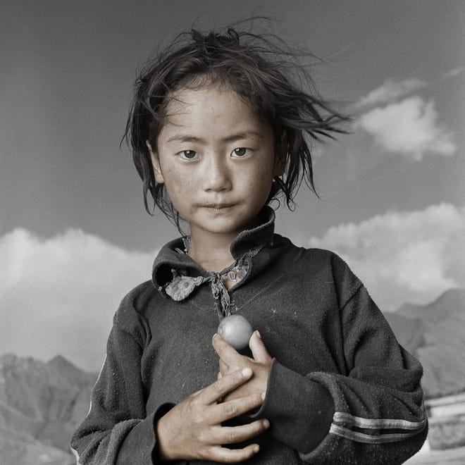 "Photograph of Yama in Tibet from ""Tibetan Portrait: The Power of Compassion."""