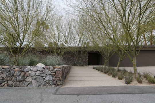 300 W Merito Place was recently sold in the Old Las Palmas neighborhood of Palm Springs. February 13, 2019.
