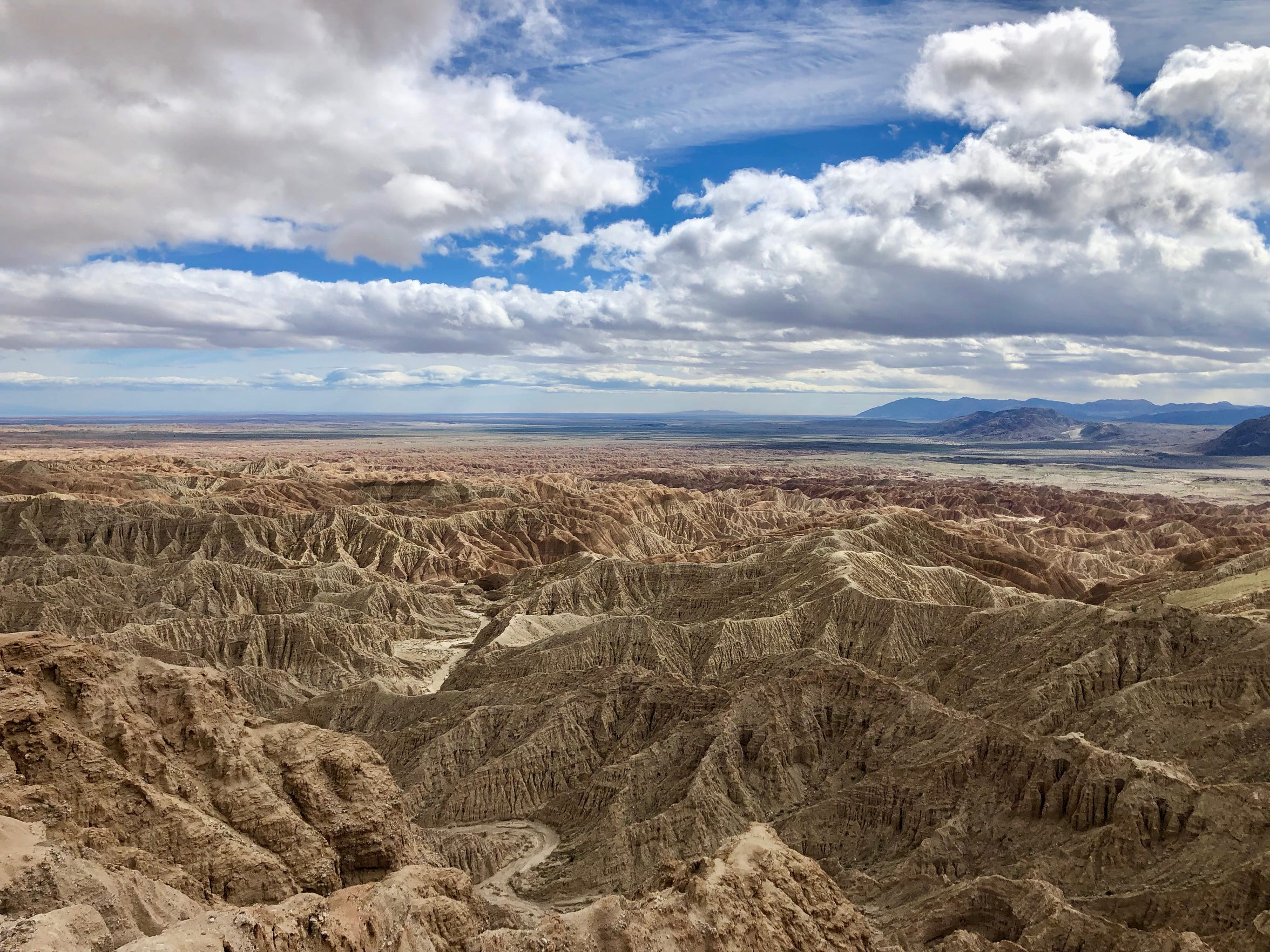 Font's Point in Anza-Borrego Desert State Park