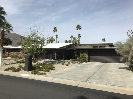 Built in 1957, this Twin Palms home in Palm Springs on Apache Road is selling at roughly $1.2 million. The home includes four bedrooms and three bathrooms.