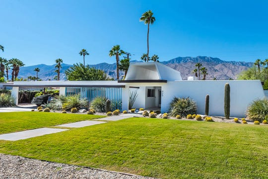 The 1962 home in Sunmor Estates includes a pool, spa and fire pit. It's selling for $799,000.