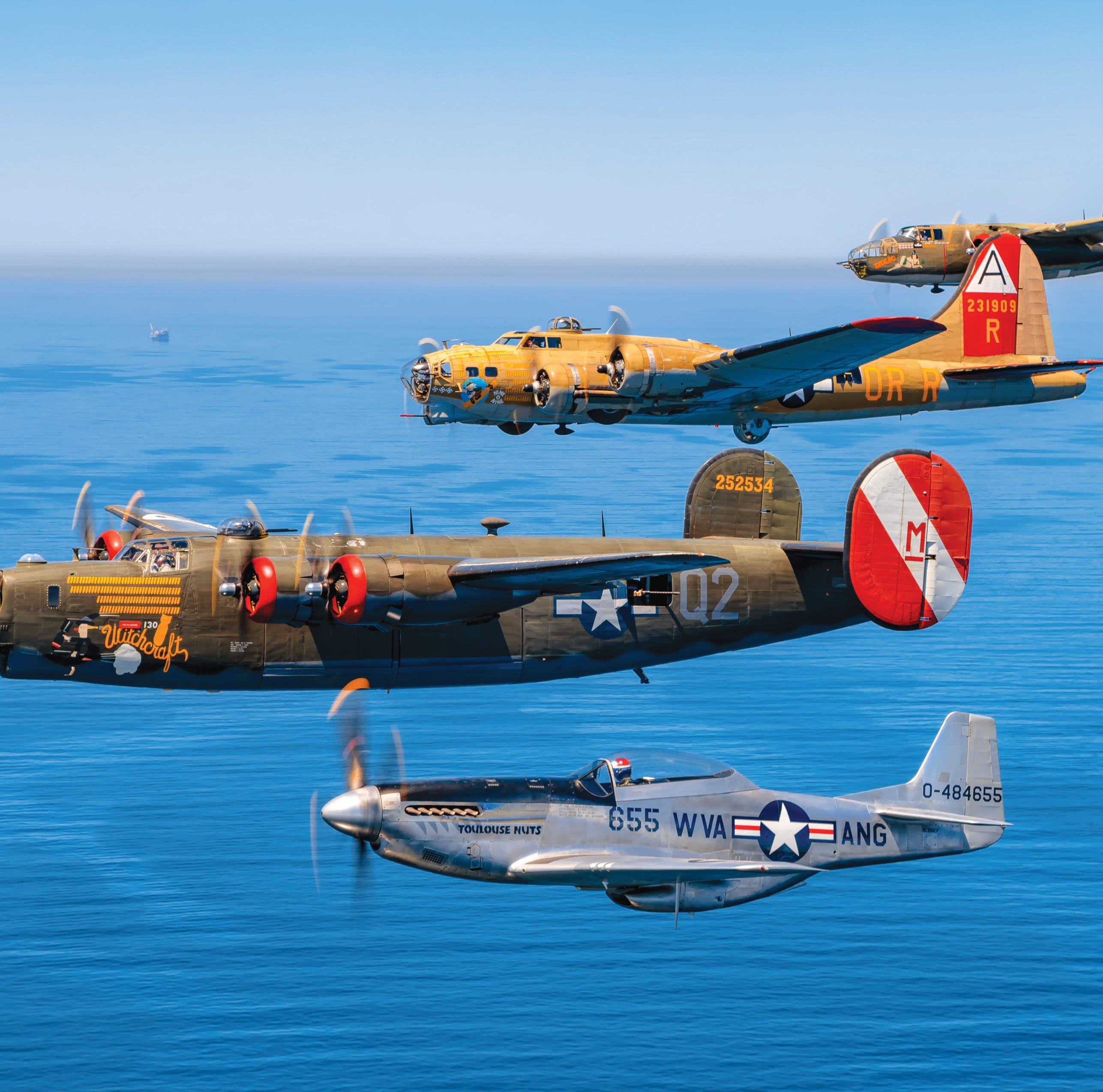 Vintage World War II aircraft will land in Pensacola for Wings of Freedom tour