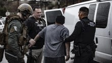 A DPS task force arrests a suspect as part of a major operation in Arizona.