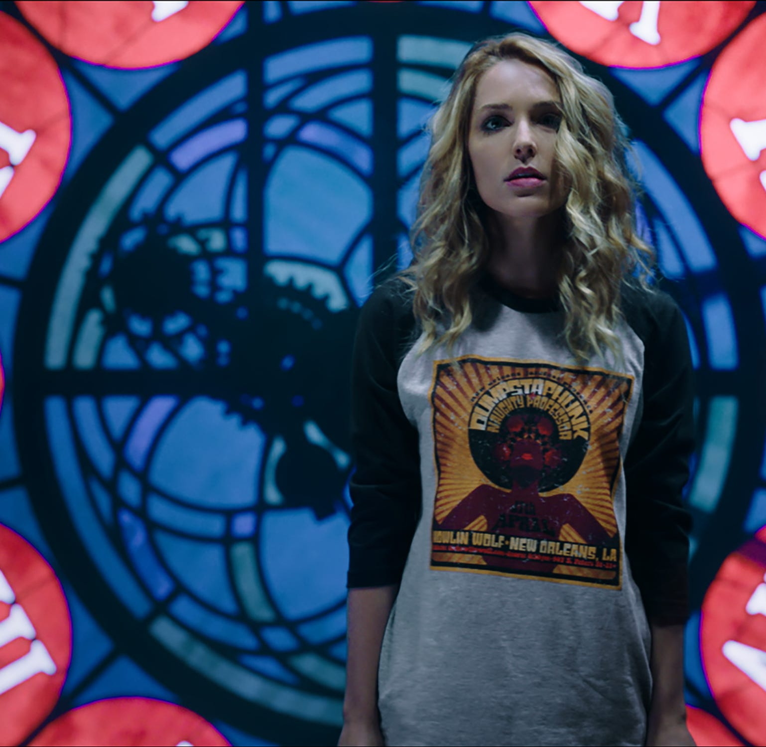 "Jessica Rothe stars in ""Happy Death Day 2U."""