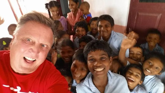 Charles Irion of Paradise Valley recently traveled to India to assess the needs of a hospital.