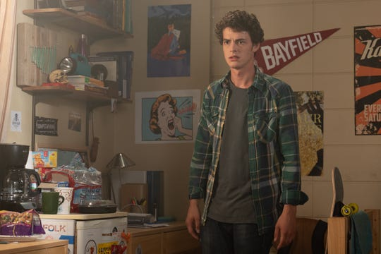 "Carter (Israel Broussard) returns in ""Happy Death Day 2U."""
