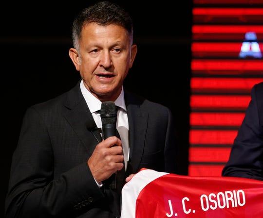 Juan Carlos Osorio, ex D.T. de Paraguay.