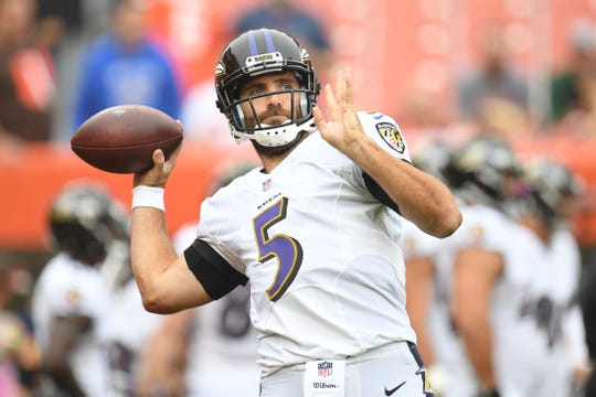 Joe Flacco ya fue campeón en un Super Bowl con los Cuervos de Baltimore.