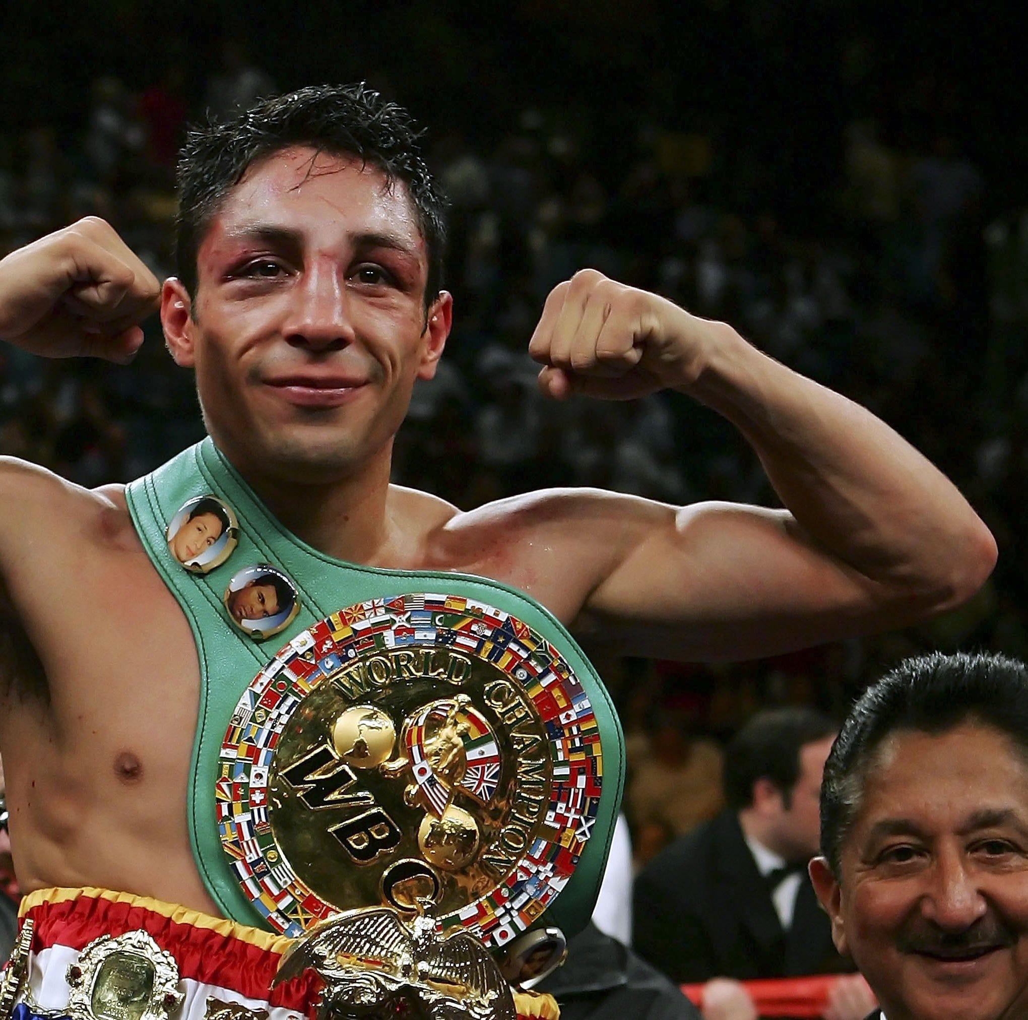 Diagnostican a boxeador Israel Vázquez con esclerosis sistémica