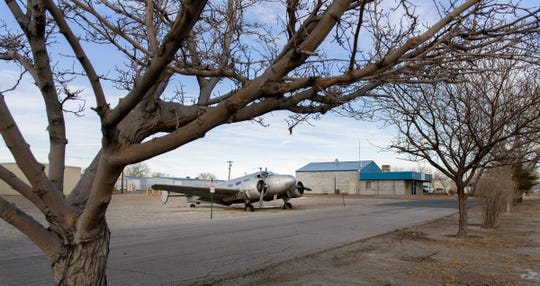 If past-due storage fees aren't paid, the vintage plane at Yerington's airport could be up for auction.